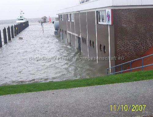 Fotogalerie Sturmflut 2007 Teil 1